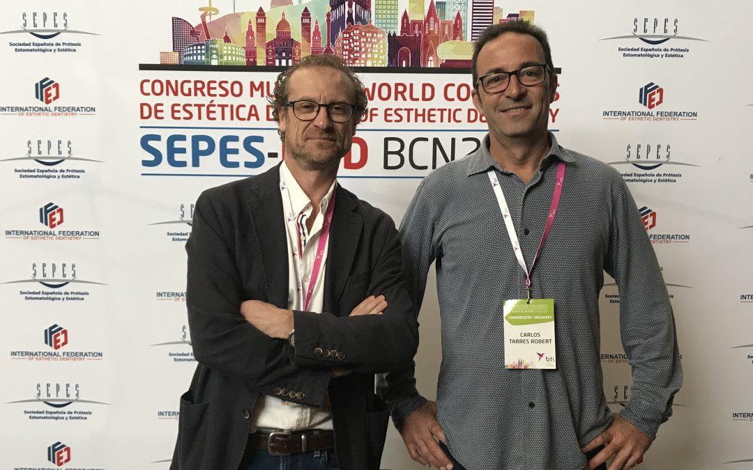 Congrés mundial d'estètica dental Barcelona Octubre 2019